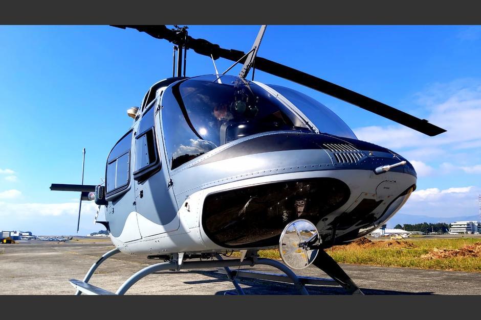 Los helicópteros fueron reparados por Helicópteros de Guatemala. (Foto: Mindef)