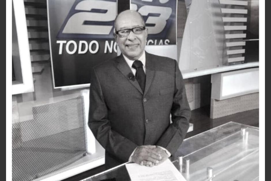 Carlos Azurdia trabajó por 10 años en el canal TN23. (Foto: TN23)
