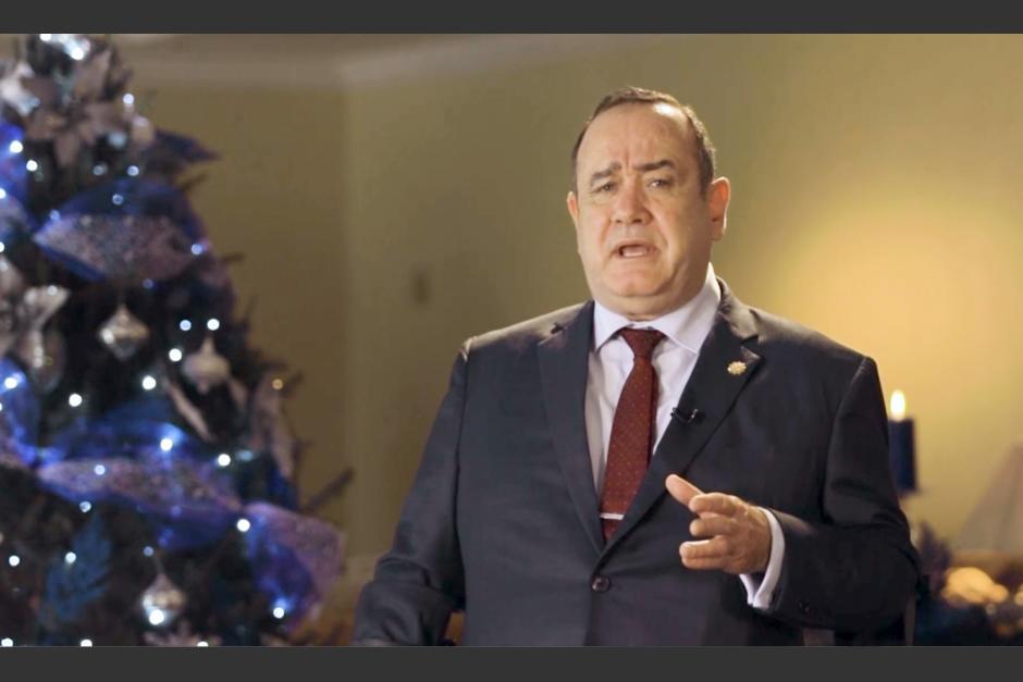El mensaje navideño será publicado este jueves en las redes sociales del Gobierno. (Foto: captura de pantalla)