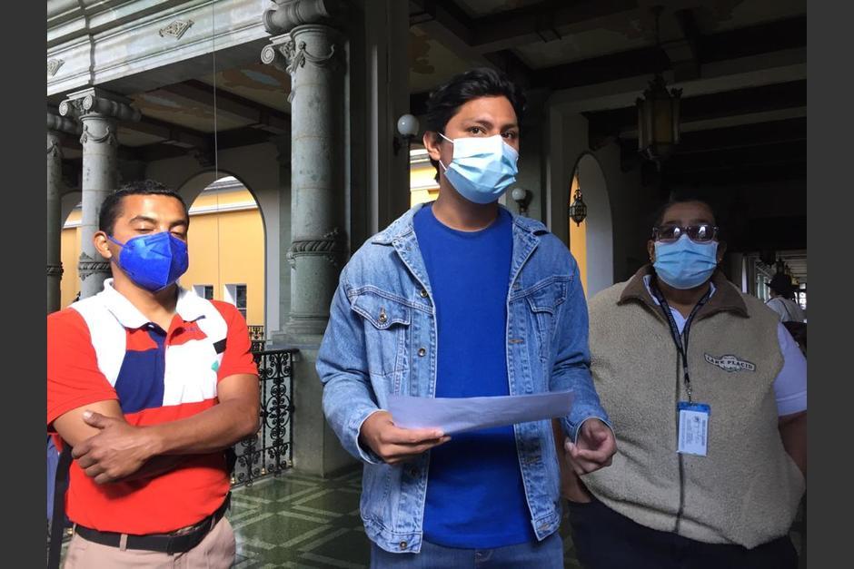 Sindicalistas denuncian despidos masivos en el Ministerio de Cultura. (Foto: Cortesía/Sandra Sebastián)