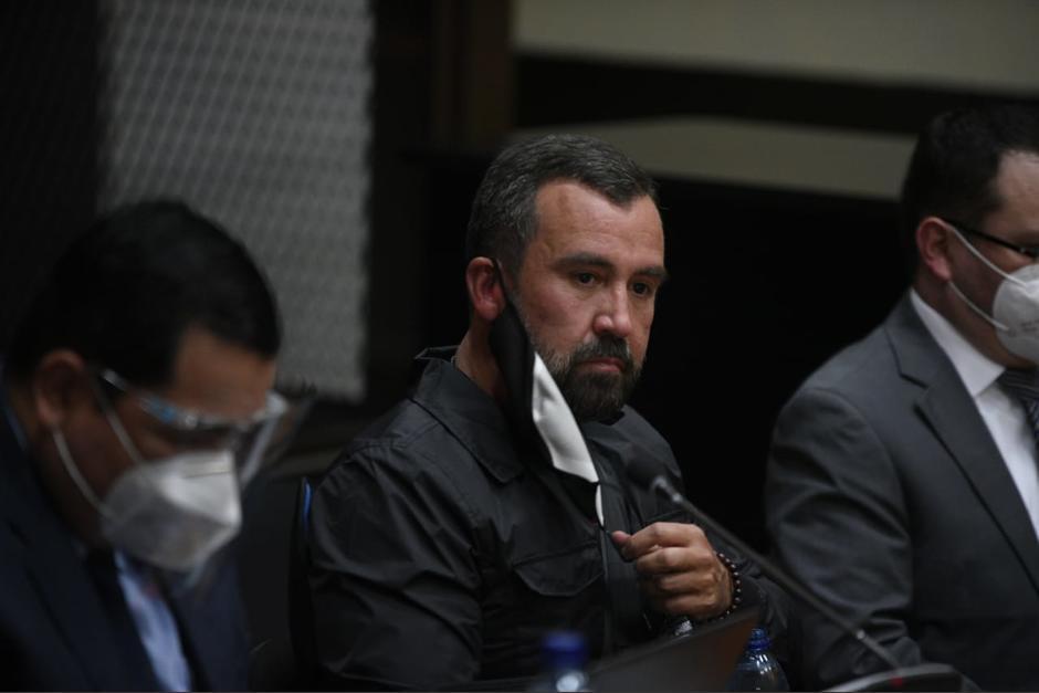 El juez Miguel Ángel Gálvez revocó el permiso otorgado al exministro Alejandro Sinibaldi para salir de prisión durante el Año Nuevo. (Foto: Archivo/Soy502)