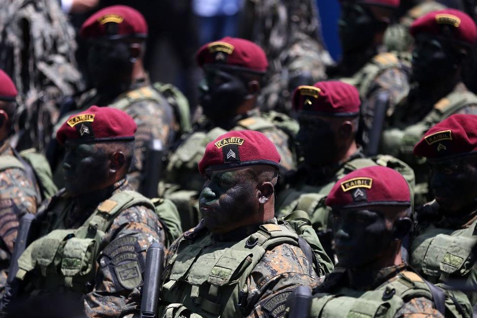 El Ejército descartó el envío de tropas a Oriente Medio. (Foto: Archivo/Soy502)