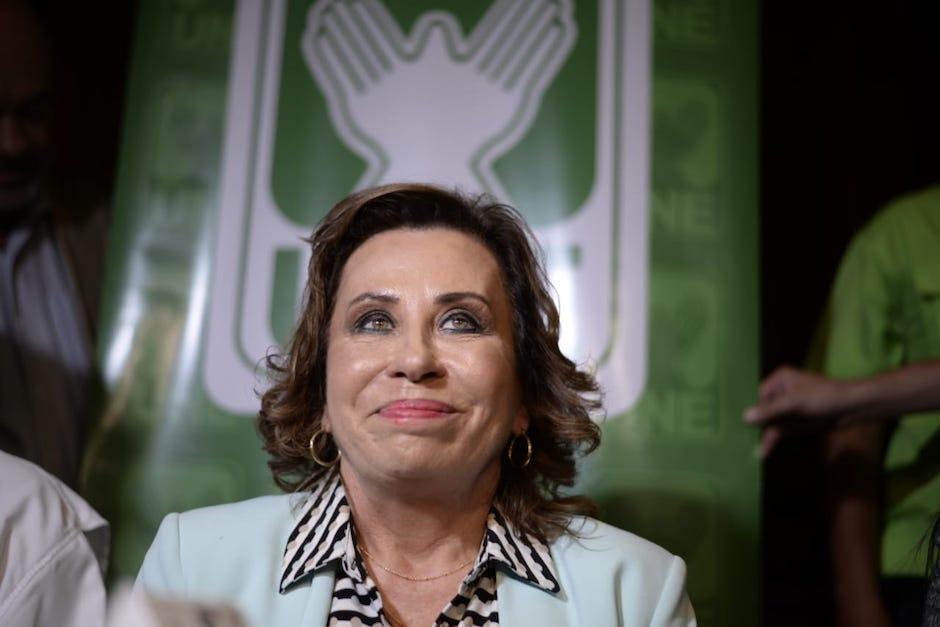 La excandidata presidencial, Sandra Torres, fue capturada a inicios de septiembre de 2019. (Foto: Archivo/Soy502)
