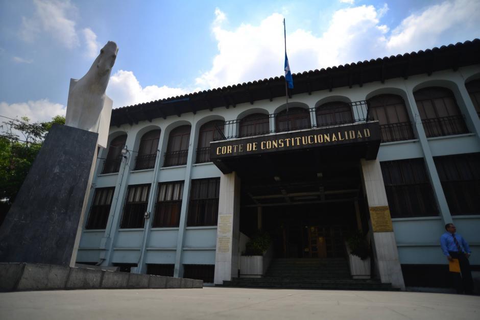 La Corte de Constitucionalidad le dio trámite a 3 solicitudes de amparo. (Foto: Archivo/Soy502)
