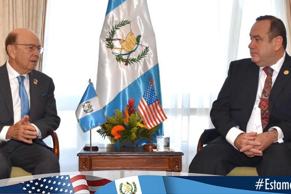 """El Gobierno de Estados Unidos anunció un compromiso de mantener """"fuerte relación"""" con Guatemala. (Foto: Embajada de Estados Unidos en Guatemala)"""