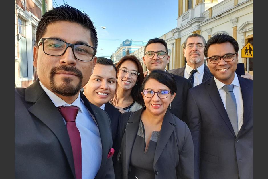 Los diputados de la Bancada Semilla acordaron con otros diputados una agenda en común. (Foto: Twitter/Soy502)