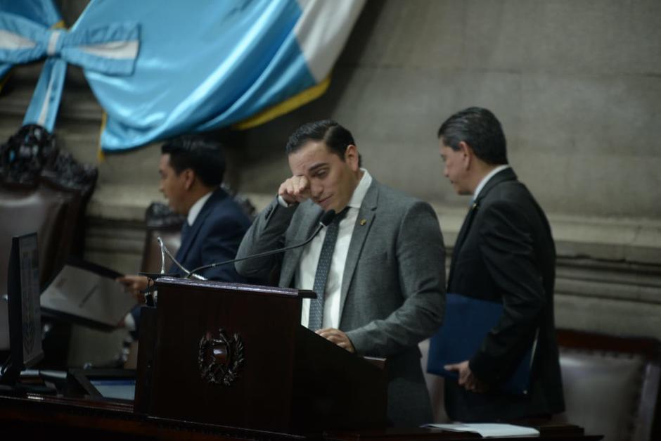 Giordano llegó al Congreso cuando tenía 19 años. (Foto: Wilder López/Soy502)