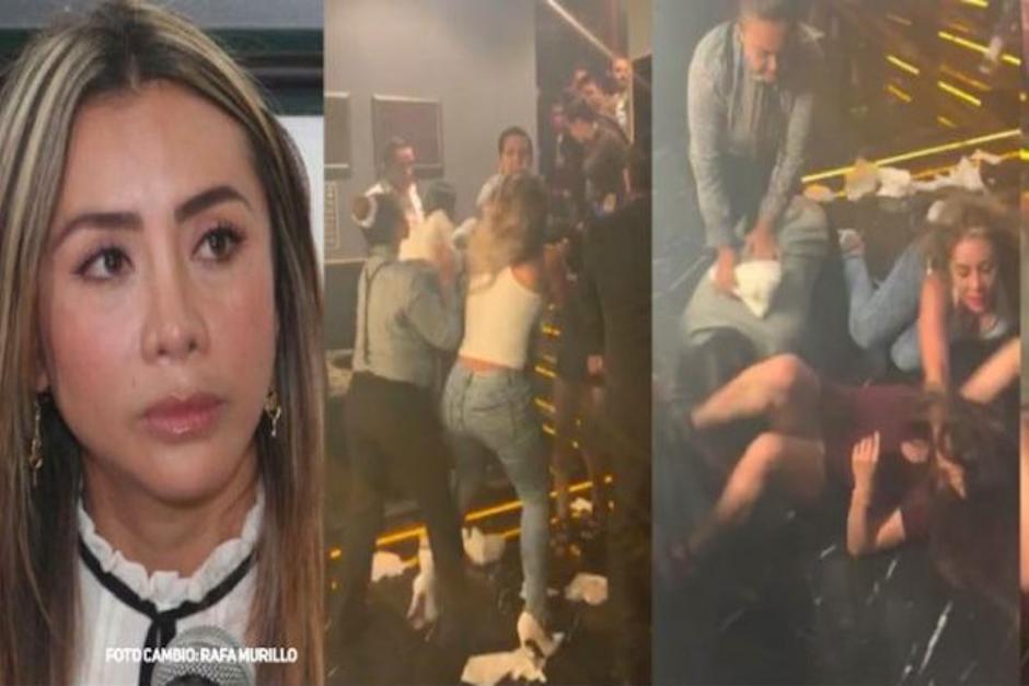 Una pelea de dos mujeres en una discoteca en México se viralizó por la lo violento que resultó. (Foto: Captura de video)
