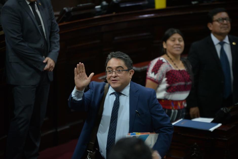 El jefe de la PDH considera que el Decreto 4-2020 atenta contra varias garantías individuales. (Foto: Wilder López/Soy502)