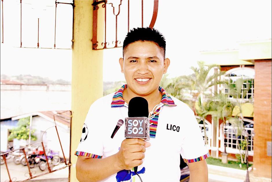 Visitamos a Federico Choc Pec, el joven narrador que se hizo viral. (Foto: Luis Barrios/Soy502)