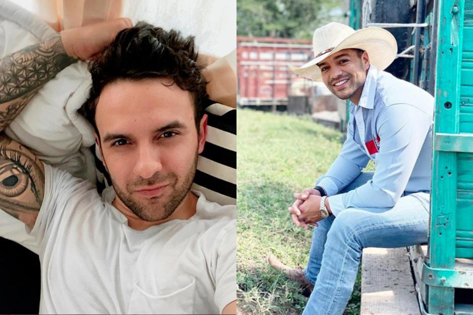 Los cantantes guatemaltecos son muy sexys. (Fotos: Instagram)