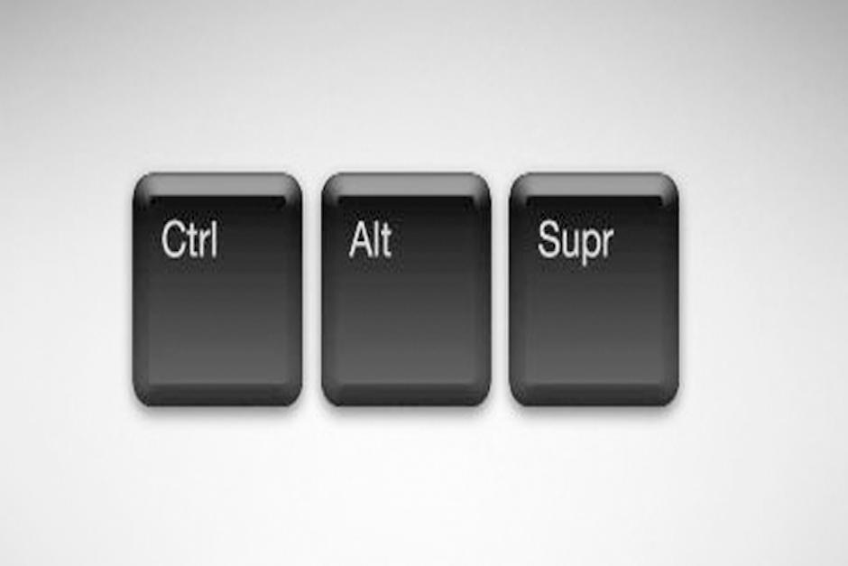 """""""Ctrl + Alt + Supr"""" es un atajo del teclado que se utiliza para reiniciar una computadora (Foto: SoftZone)"""