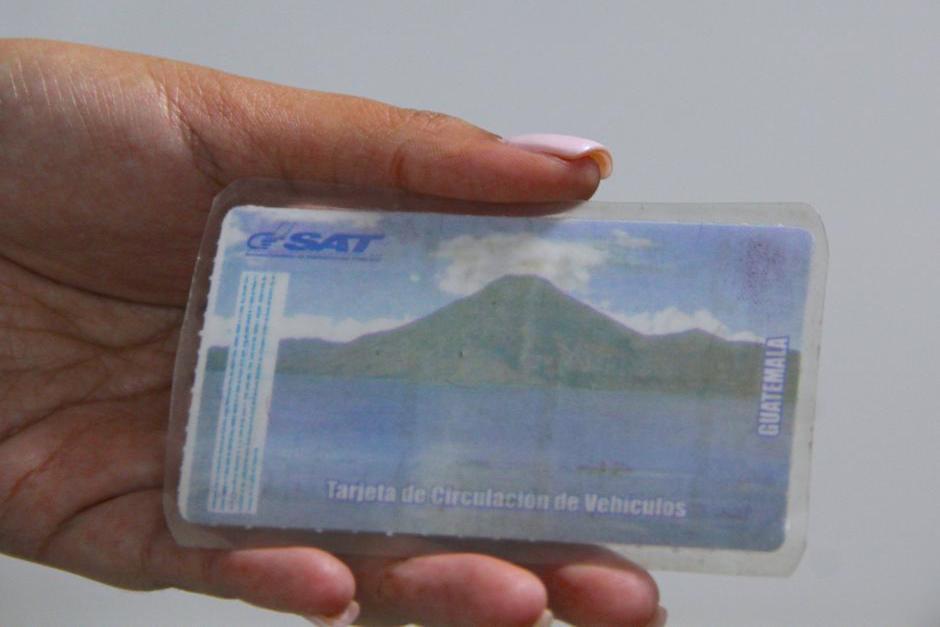 Necesitas estar registrado como propietario de vehículo (Foto: Archivo/Soy502)
