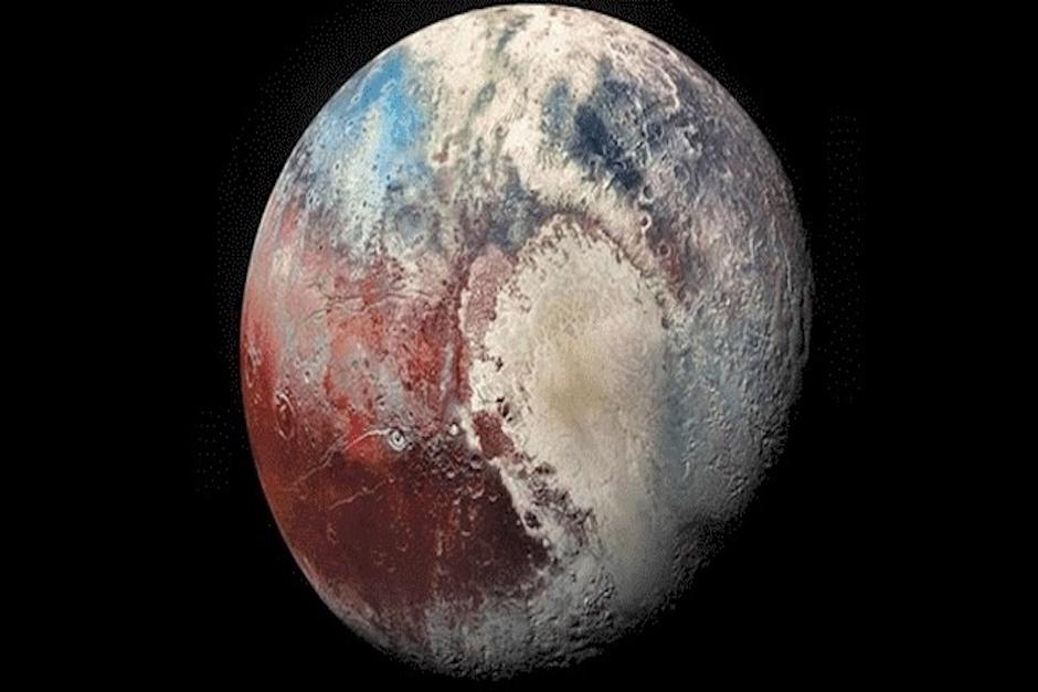 La misión New Horizons voló sobre Plutón en 2015 (Foto: Nasa)