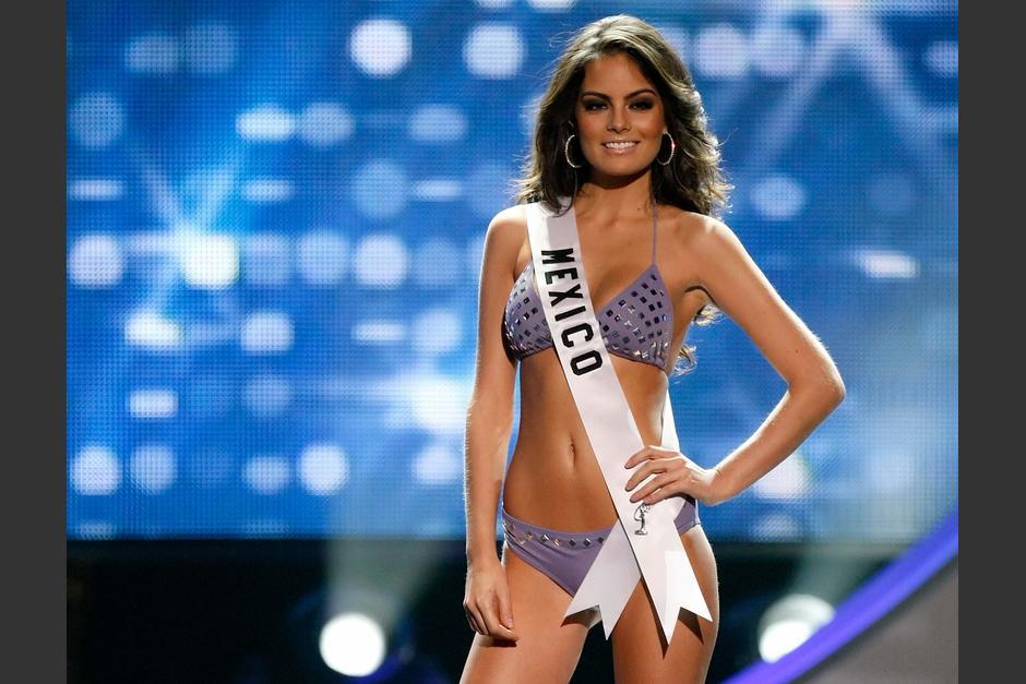 Ximena Navarrete luce mejor que nunca. (Foto: AFP)
