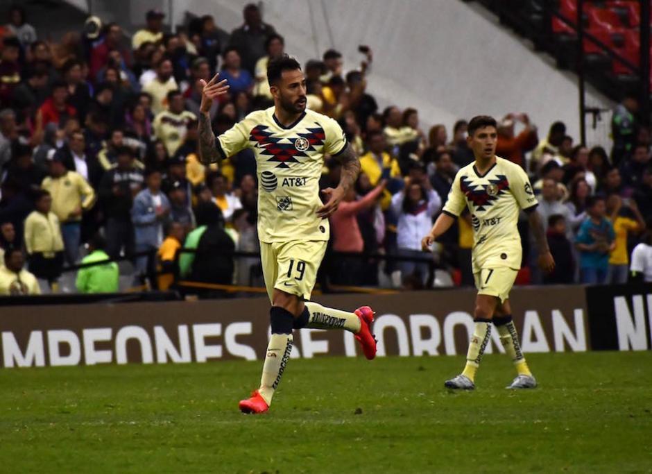 Víctor Aguilera anotó el gol del empate al minuto 80. (Foto: Rudy Martínez/Soy502)