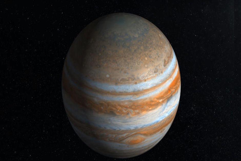 La superficie de Júpiter no es sólida (Foto: Turismo de Estrellas)