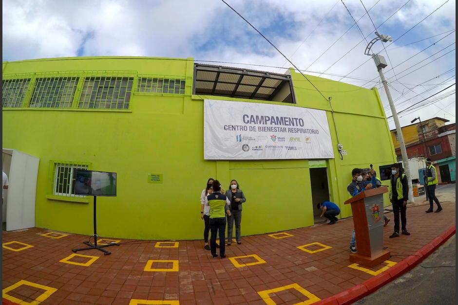 El centro de atención se encuentra ubicado en la colonia Maya de la zona 18. (Foto: Fredy Hernández/Soy502)