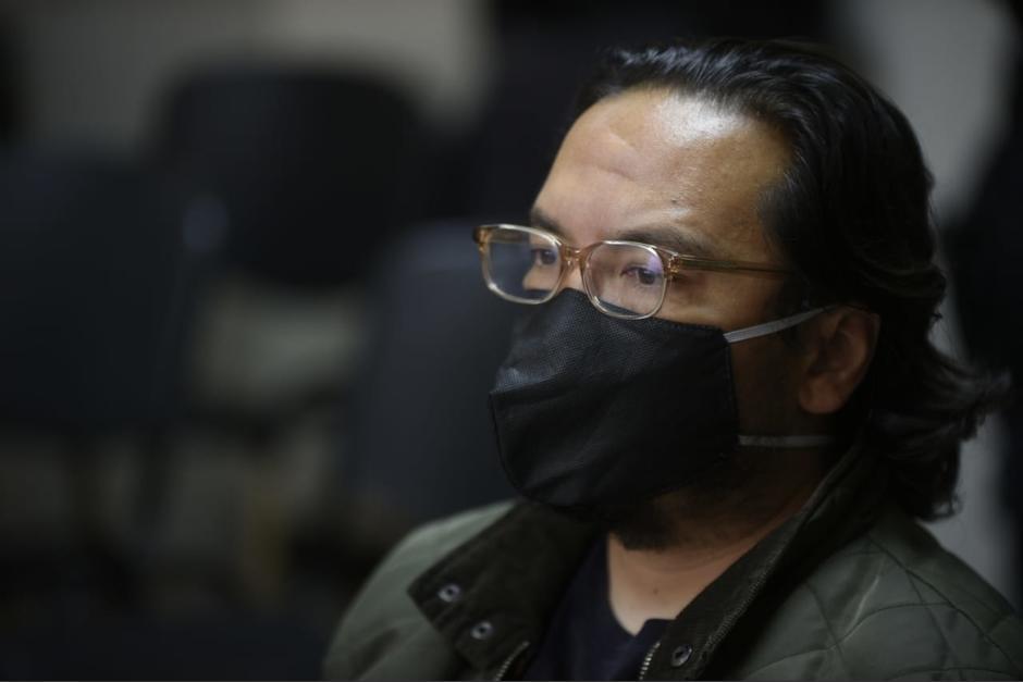 Gabriel Esteban Mauricio Recinos Jo deberá pagar una caución económica de 20 mil quetzales para recuperar su libertad. (Foto: Wilder López/Soy502)