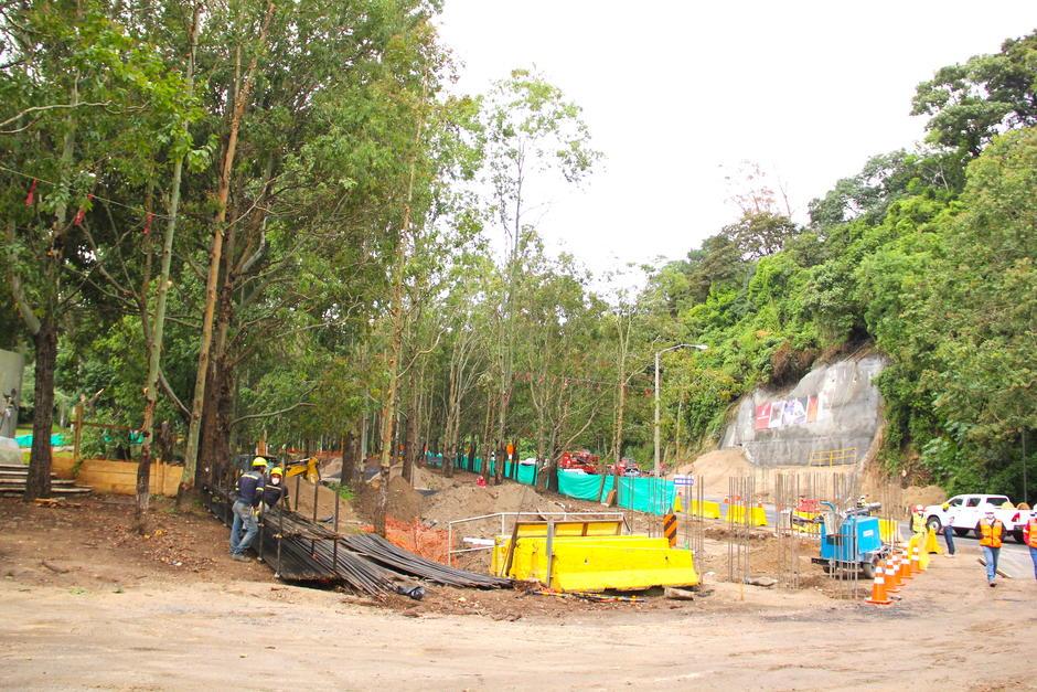 La obra está prevista para finalizarse a principios de octubre.  (Foto: Fredy Hernández/Soy502)