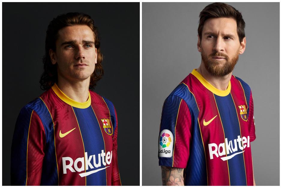 El FC Barcelona presenta oficialmente su nueva camiseta