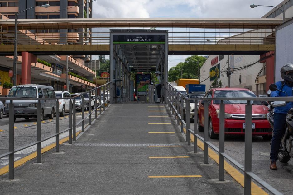 La estaciones han sido acondicionadas para cumplir con los protocolos dictaminados por el Ministerio de Salud. (Foto: Wilder López/Soy502)