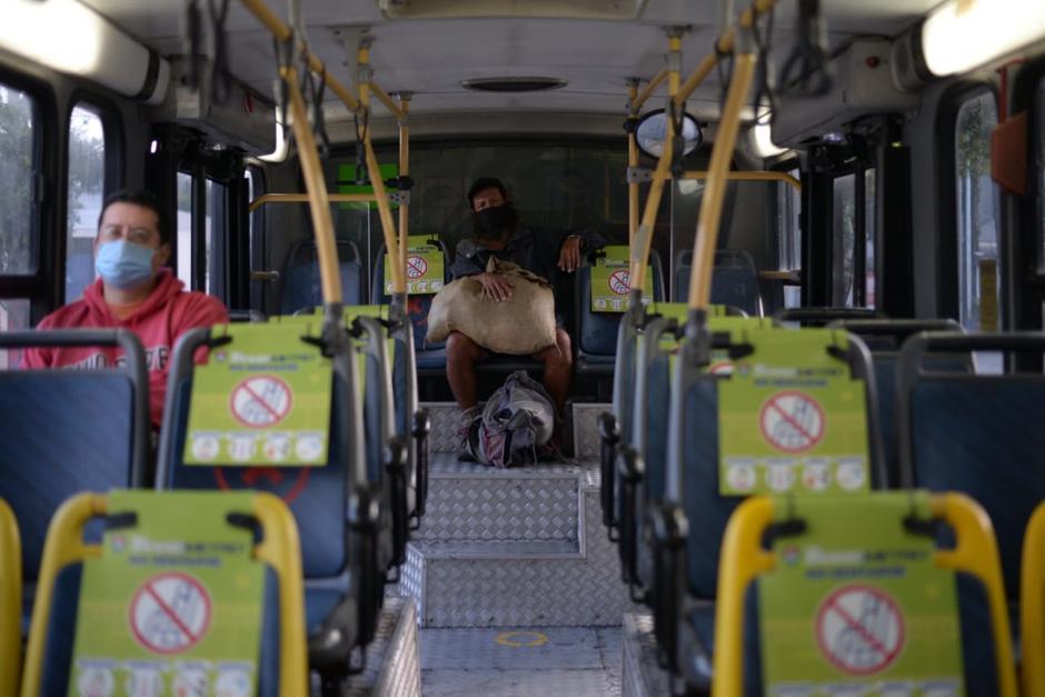 El Gobierno suspendió las operaciones del transporte público en marzo pasado para evitar la propagación del Covid-19. (Foto: Wilder López/Soy502)
