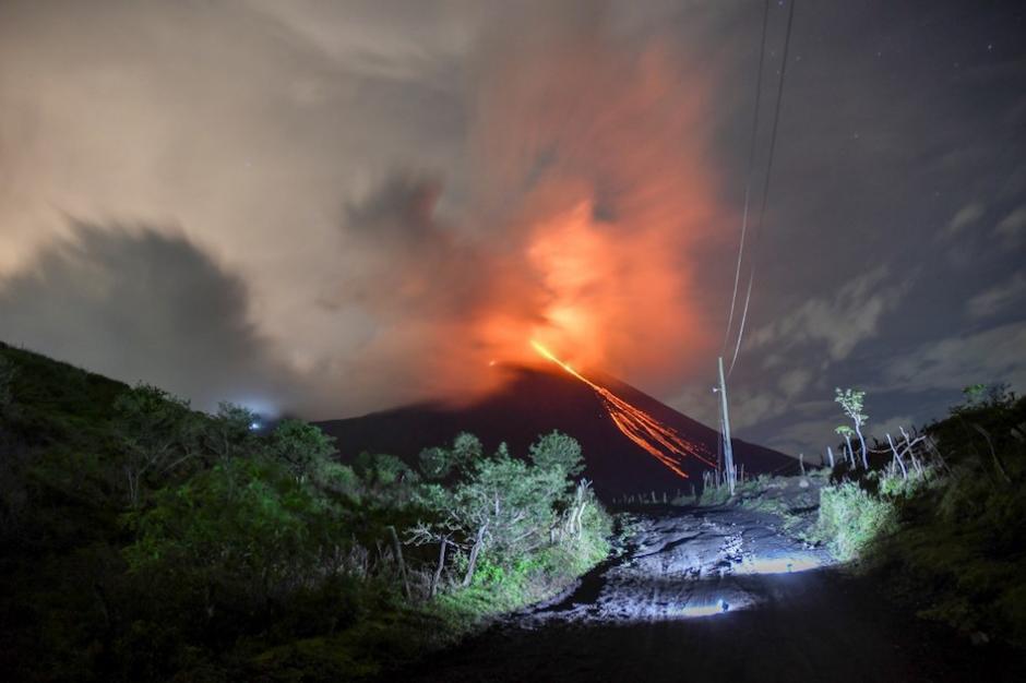 El volcán está ubicado en San Vicente Pacaya, Escuintla. (Foto: AFP)