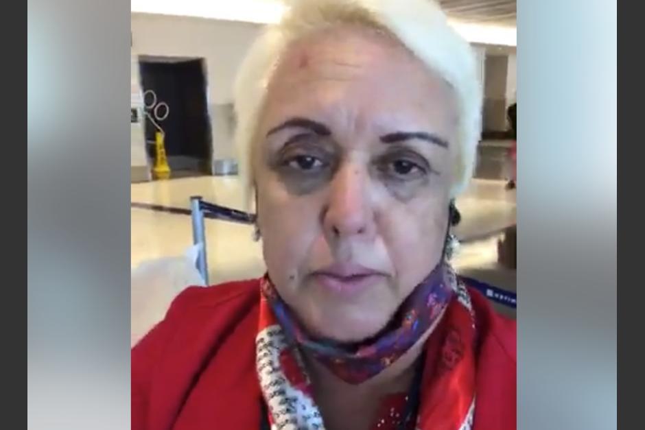 La cubana Bárbara Hernández dejó Guatemala, justo cuando se analizaba su situación migratoria en el país. (Foto: Captura de pantalla)