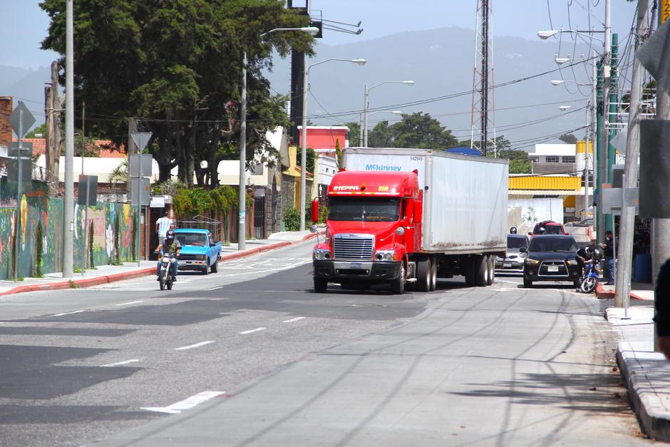 El transporte pesado no podrá utilizar esta vía a partir del sábado 27 de junio. (Foto: Fredy Hernández/Soy502)