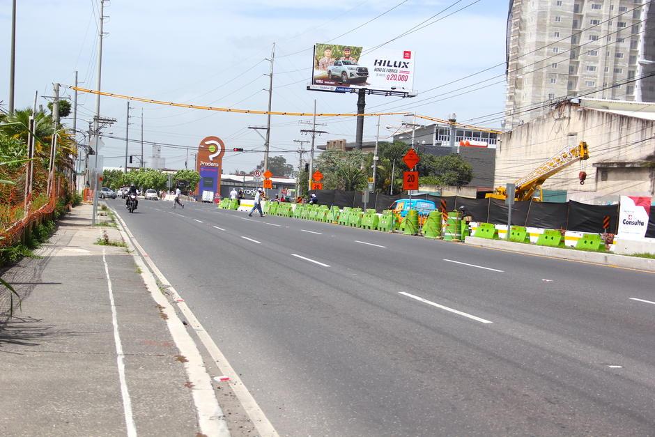 La obra tomará cerca de tres meses en concluirse. (Foto: Fredy Hernández/Soy502)