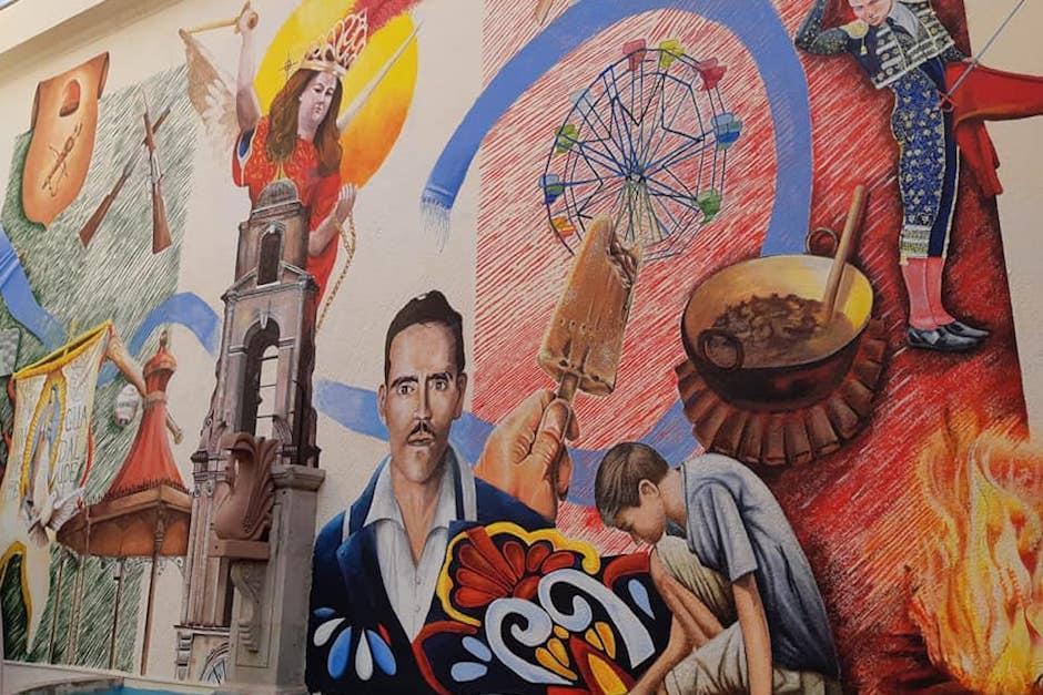 Jorge Corleto es un reconocido artista visual y muralista guatemalteco (Foto: Facebook)