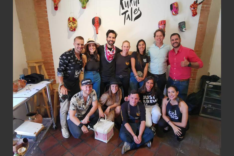 Parte de las personas que viajaron a Guatemala para conocer La Cosecha del café en Guatemala. (Foto: Fernando Pinetta)