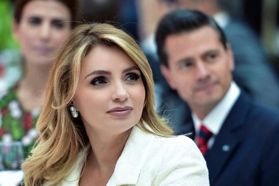 Se divorció del ex presidente Enrique Peña Nieto en mayo de 2019. (AFP)