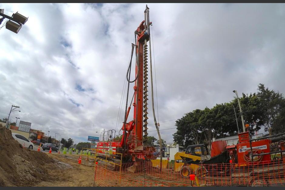 A la fecha se han construido más de 50 pilotes en el sector. (Foto: Fredy Hernández/Soy502)