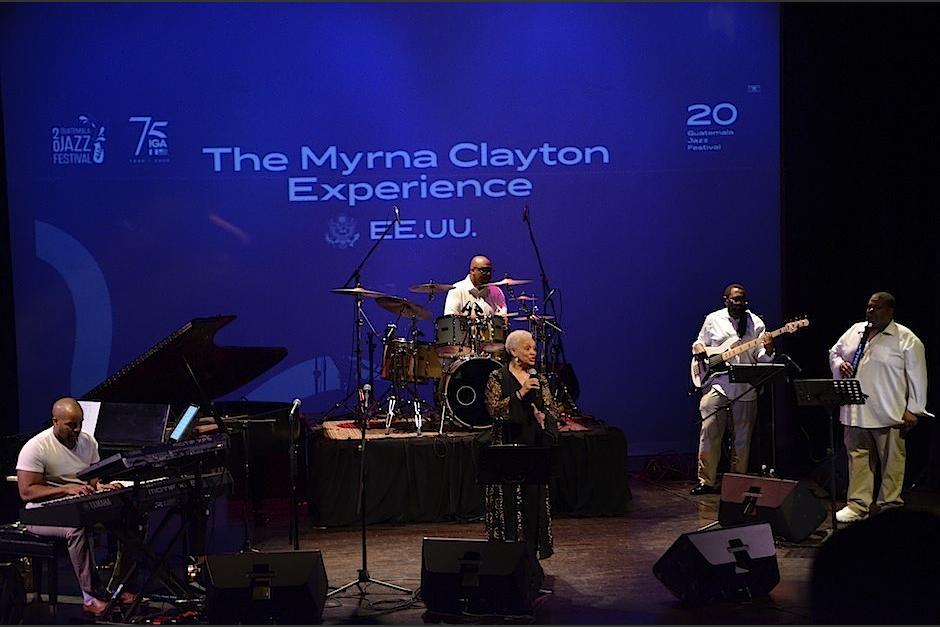 The Myrna Clayton Experience visitó Guatemala e impartió talleres. (Foto: Selene Mejía/Soy502)