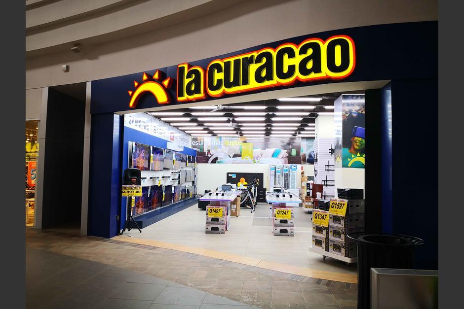 La Curacao en el centro comercial Gran Carchá, en Alta Verapaz.