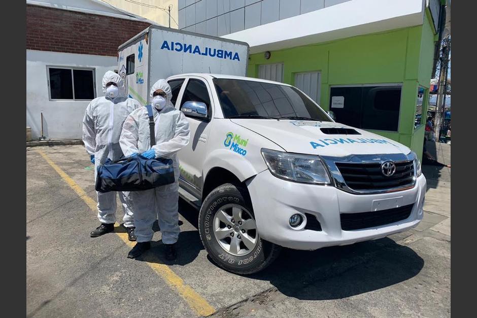 El alcalde de Mixco anunció cómo se prepara para enfrentar un caso de coronavirus. (Foto: captura pantalla)