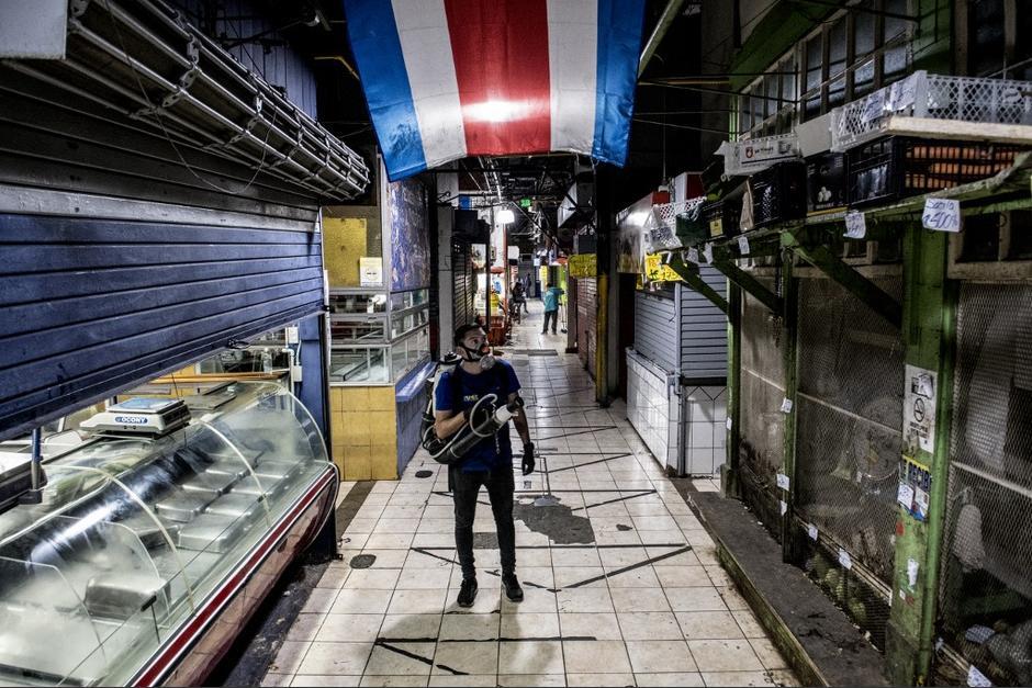 En Costa Rica también se ha vivido el desabastecimiento de productos en los supermercados. (Foto: AFP)