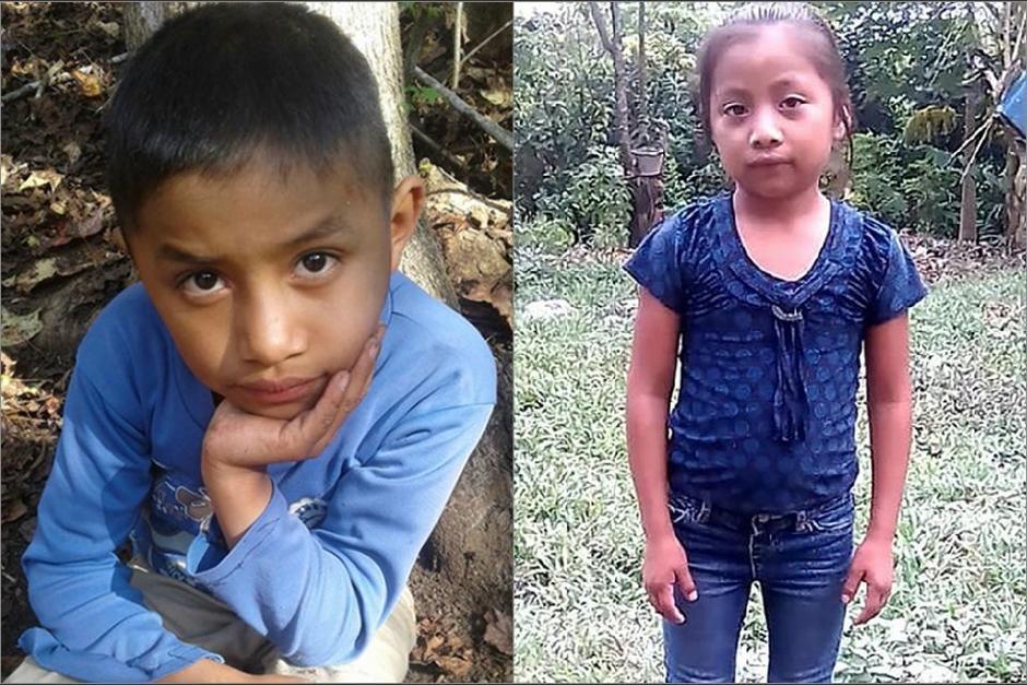 Felipe Alonzo Gómez, de 8 años, yJakelin Amei Rosmery Caal, de 7, fallecieron en manos de la Patrulla Fronteriza. (Foto: Archivo/Soy502)