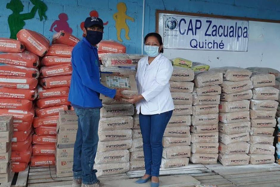 Donación en Zacualpa, Quiché (Fotografía: Rotary Guatemala)