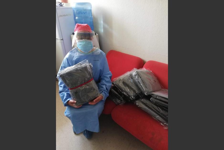 Doce hospitales fueron beneficiados (Foto: Rotary Guatemala)