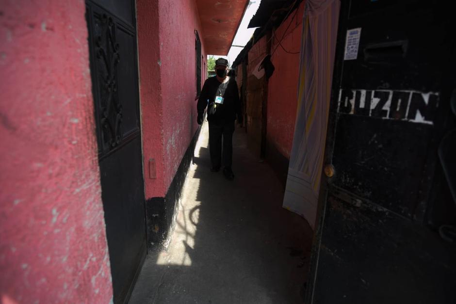 La vivienda en la zona 6 es compartida con otros inquilinos que se han quedado sin trabajo. (Foto: Wilder López/Soy502)