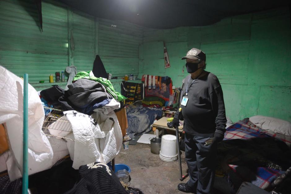 Su condición es precaria y eso los ha motivado a seguir trabajando en las calles de la ciudad. (Foto: Wilder López/Soy502)