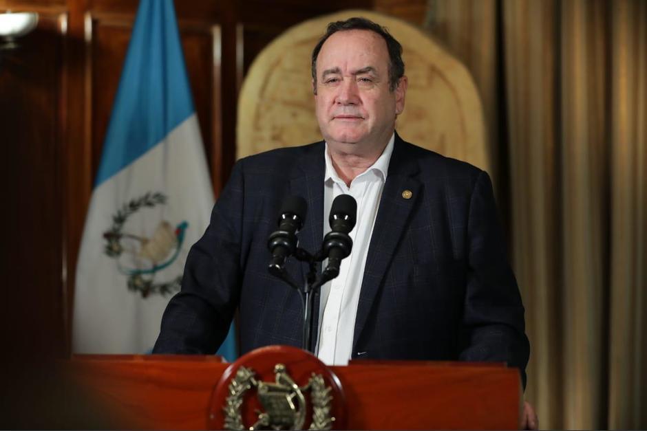 El mandatario confirmó los nuevos casos en un mensaje difundido la noche de este jueves. (Foto: Gobierno de Guatemala)