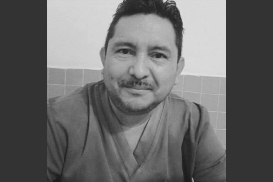 Hugo Leonel de León, de 53 años, murió a causa del Covid-19. (Foto: Facebook Amor por San Marcos)