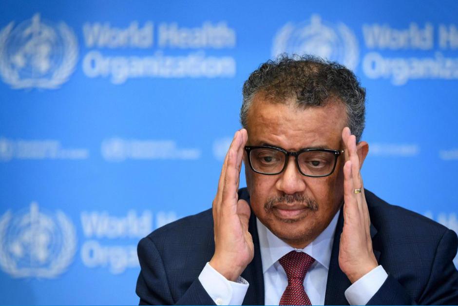 Tedros Adhanom, director de la OMS, irá a cuarentena tras entrar en contacto con una persona que dio positivo a Covid-19. (Foto: AFP)