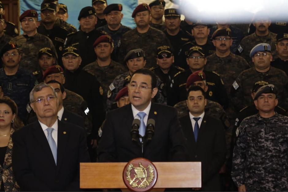 Jimmy Morales nombró al abogado Luis Lam como embajador ante las Naciones Unidas, luego de haber colaborado con la estrategia para expulsar a la CICIG. (Foto: archivo/Soy502)