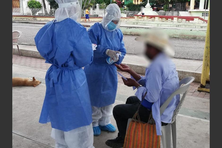 El Ministerio de Salud reportó que se hicieron 3,702 pruebas de Covid-19 este viernes. (Foto: Ministerio de Salud)