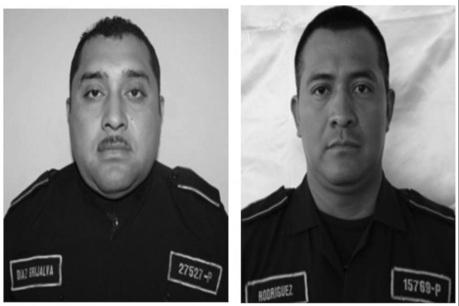 Los agentes de la PNC fueron asesinados el 1 de junio de 2018. (Fotos: Archivo/Soy502)
